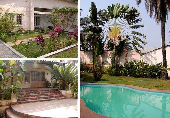 A louer maison d 39 habitation kinshasa gombe for Construction de maison a kinshasa