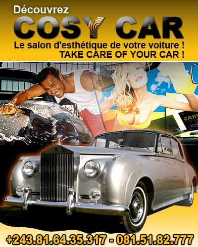 cosy car le salon d 39 esthetique pour votre voiture kinshasa. Black Bedroom Furniture Sets. Home Design Ideas
