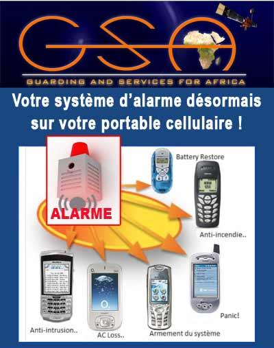 Gsa propose le syst me d 39 alarme sur votre portable for Les systemes d alarme
