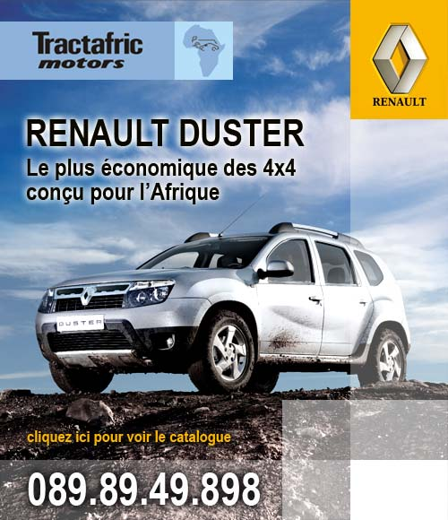 tractafric motors renault duster le plus conomique des 4x4 con u pour l 39 afrique. Black Bedroom Furniture Sets. Home Design Ideas
